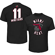 Majestic Men's Miami Heat Dion Waiters #11 Black T-Shirt