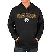 Majestic Men's Pittsburgh Steelers Heritage Camo Pullover Hoodie