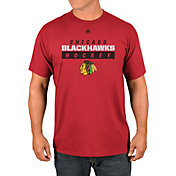 Majestic Men's Chicago Blackhawks Game Misconduct Red T-Shirt