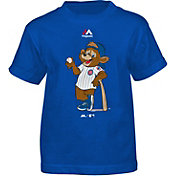 Majestic Toddler Chicago Cubs Mascot Royal T-Shirt