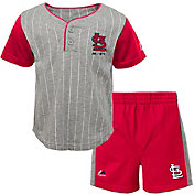 Majestic Toddler St. Louis Cardinals Batter Up Shorts & Top Set