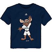 Majestic Toddler Seattle Mariners Mascot Navy T-Shirt