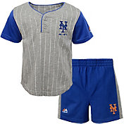 Majestic Toddler New York Mets Batter Up Shorts & Top Set