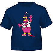 Majestic Toddler Cleveland Indians Mascot Navy T-Shirt