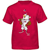 Majestic Toddler Washington Nationals Mascot Red T-Shirt
