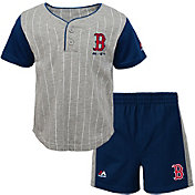 Majestic Toddler Boston Red Sox Batter Up Shorts & Top Set