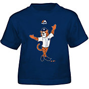 Majestic Toddler Detroit Tigers Mascot Navy T-Shirt