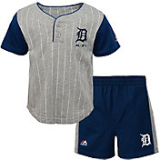 Majestic Toddler Detroit Tigers Batter Up Shorts & Top Set