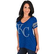 Majestic Women's Kansas City Royals Royal V-Neck T-Shirt