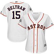 Majestic Women's 2017 World Series Replica Houston Astros Carlos Beltran Cool Base Home White Jersey