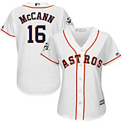 Majestic Women's 2017 World Series Replica Houston Astros Brian McCann Cool Base Home White Jersey
