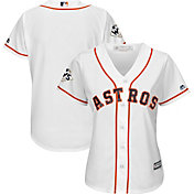 Majestic Women's 2017 World Series Replica Houston Astros Cool Base Home White Jersey