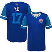 "Majestic Youth Chicago Cubs Kris Bryant ""KB"" MLB Players Weekend Jersey Top"