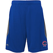 Majestic Youth Chicago Cubs Cool Base Rally Royal Performance Shorts