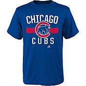 Majestic Youth Chicago Cubs Royal T-Shirt