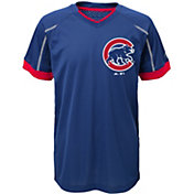 Majestic Youth Chicago Cubs Cool Base Emergence Royal Performance T-Shirt