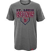 Majestic Youth St. Louis Cardinals Heirloom Grey T-Shirt