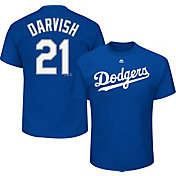 Majestic Youth Los Angeles Dodgers Yu Darvish #21 Royal T-Shirt