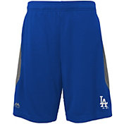Majestic Youth Los Angeles Dodgers Cool Base Rally Royal Performance Shorts