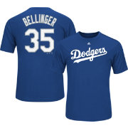 Majestic Youth Los Angeles Dodgers Cody Bellinger #35 Royal Performance T-Shirt