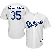 Majestic Youth Replica Los Angeles Dodgers Cody Bellinger #35 Cool Base Home White Jersey