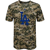 Majestic Youth Los Angeles Dodgers Cool Base Digi Camo Performance T-Shirt
