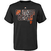 Majestic Youth San Francisco Giants Spark Black T-Shirt