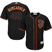 Youth Replica San Francisco Giants Madison Bumgarner #40 Alternate Black Jersey