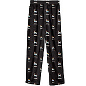 Majestic Youth Miami Marlins Team Logo Pajama Pants