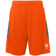 Majestic Youth New York Mets Cool Base Rally Orange Performance Shorts