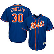 Majestic Youth Replica New York Mets Michael Conforto #30 Cool Base Alternate Royal Jersey