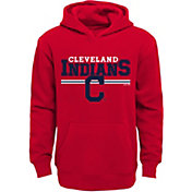 Majestic Youth Cleveland Indians Red MVP Hoodie