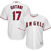 Majestic Youth Replica Los Angeles Angels Shohei Ohtani #17 Cool Base Home White Jersey