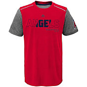 Majestic Youth Los Angeles Angels Cool Base Club Series Red Performance T-Shirt