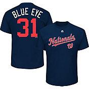 "Majestic Youth Washington Nationals Max Scherzer ""Blue Eye"" MLB Players Weekend T-Shirt"