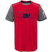 Majestic Youth Washington Nationals Cool Base Club Series Red Performance T-Shirt