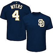 Majestic Youth San Diego Padres Wil Myers #4 Navy T-Shirt