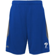 Majestic Youth Philadelphia Phillies Cool Base Rally Royal Performance Shorts