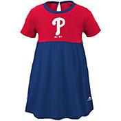 Majestic Youth Girls' Philadelphia Phillies Twirl Dress