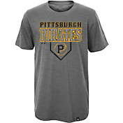 Majestic Youth Pittsburgh Pirates Heirloom Grey T-Shirt