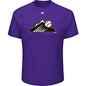 Majestic Youth Colorado Rockies MLB Players Weekend Logo T-Shirt
