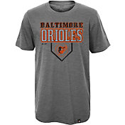 Majestic Youth Baltimore Orioles Heirloom Grey T-Shirt