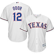 Youth Replica Texas Rangers Rougned Odor #12 Home White Jersey