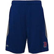 Majestic Youth Boston Red Sox Cool Base Rally Navy Performance Shorts