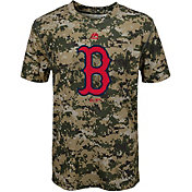 Majestic Youth Boston Red Sox Cool Base Digi Camo Performance T-Shirt