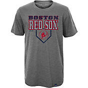 Majestic Youth Boston Red Sox Heirloom Grey T-Shirt