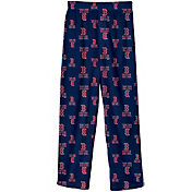Majestic Youth Boston Red Sox Team Logo Pajama Pants