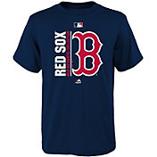 Majestic Youth Boston Red Sox Authentic Collection Navy T-Shirt