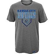 Majestic Youth Kansas City Royals Heirloom Grey T-Shirt