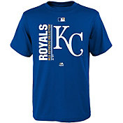 Majestic Youth Kansas City Royals Authentic Collection Royal T-Shirt